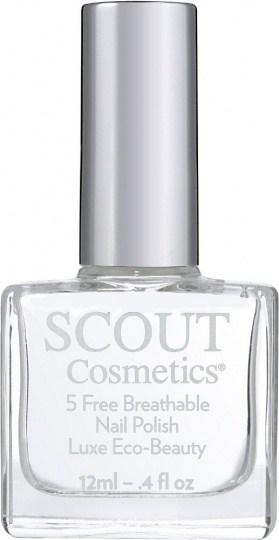 Scout Cosmetics Nail Polish Vegan Dual Top & Base Coat Plus 12ml