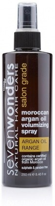 Seven Wonders MorocArgan Oil Volumise H/Spry 250ml