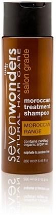 Seven Wonders Moroccan Argan Oil Shampoo 250ml