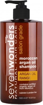 Seven Wonders Moroccan Argan Oil Shampoo 500ml
