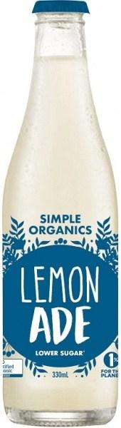 Simple Organic Sodas Lemonade 12x330ml
