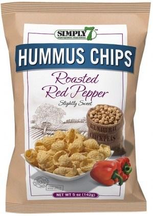 Simply 7 Hummus Sea Salt Chips 4x113g