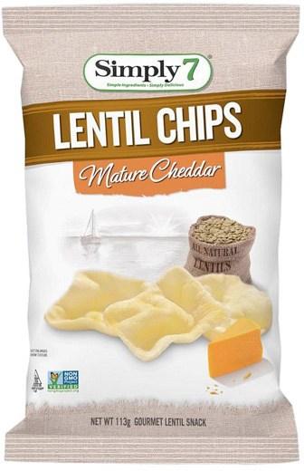 Simply 7 Lentil Mature Cheddar 4x113g FEB21