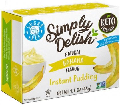 Simply Delish Banana Pudding  48g