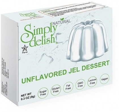 Simply Delish Unflavored Jel Dessert  9g
