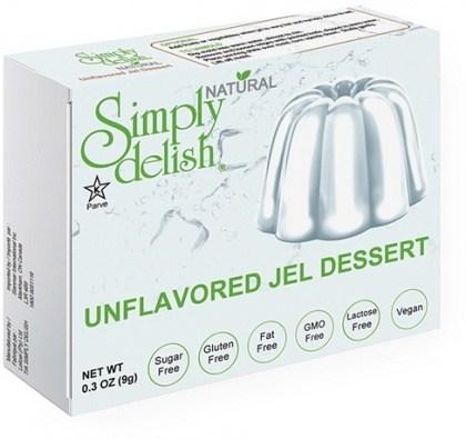 Simply Delish Unflavored Jel Dessert  9g