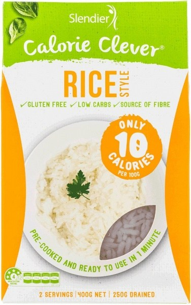 Slendier Calorie Clever Rice Style Gluten Free 12x400g