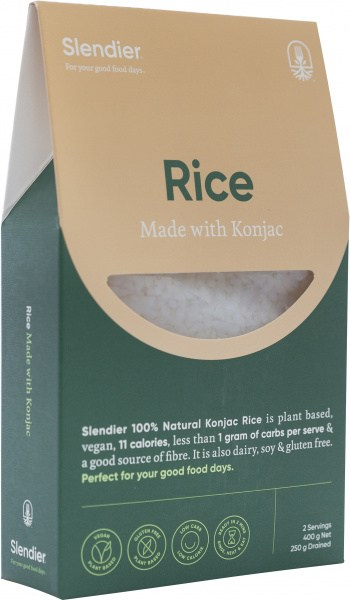 Slendier Calorie Clever Rice Style Gluten Free 400g
