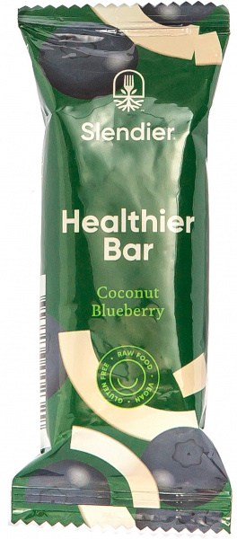 Slendier Coconut & Blueberry Bar 4x40g