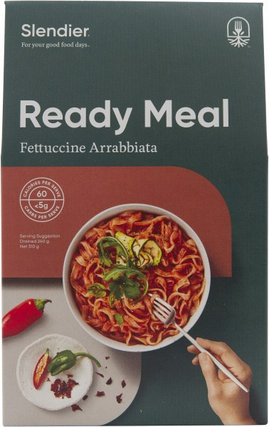 Slendier Ready Meal Fettuccine with Arrabbiata Sauce 310g
