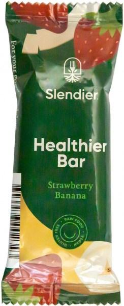 Slendier Strawberry & Banana Bar 4x40g