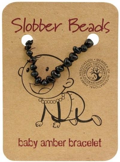 Slobber Beads Baby Cherry Oval Bracelet