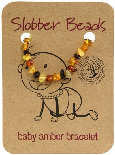 Slobber Beads Baby Multi Round Bracelet