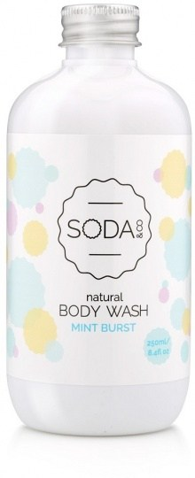 SODA & Co Mint Burst Body Wash 250ml