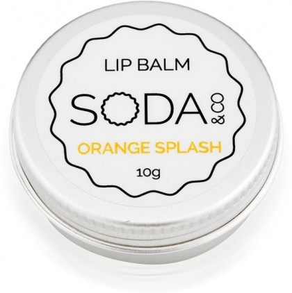 SODA & Co Orange Splash Lip Balm 10g