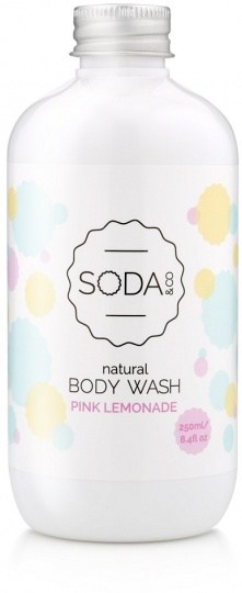 SODA & Co Pink Lemonade Body Wash 250ml