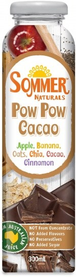 Sommer Naturals Pow Pow Cacao 12x300ml