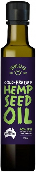Soul Seed Hemp Oil 250ml