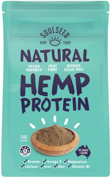 Soul Seed Natural Hemp Protein 350g
