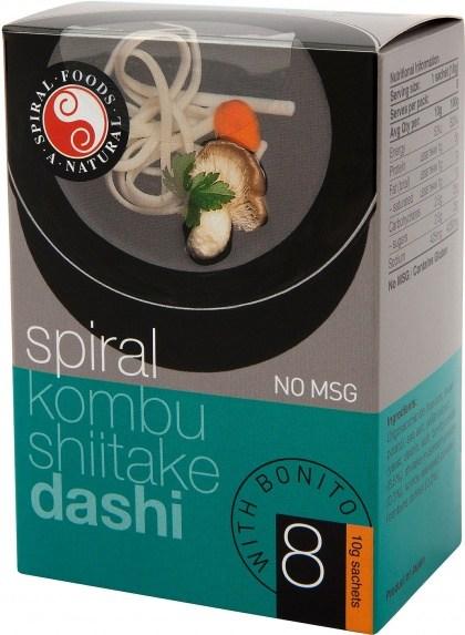Spiral Instant Miso Dashi Bonito 8x10g Sachets