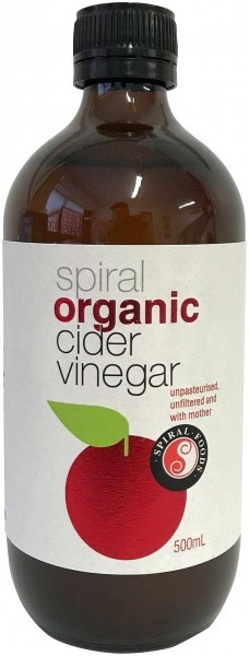 Spiral Organic Apple Cider Vinegar  500ml