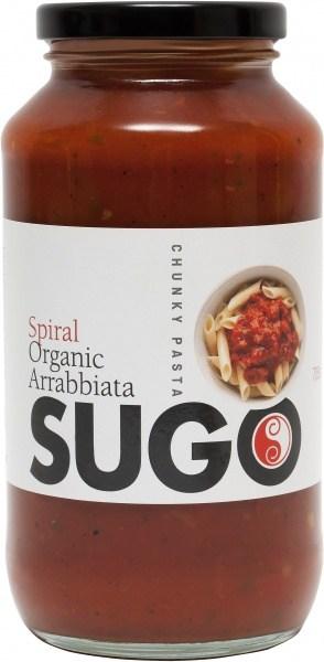 Spiral Organic Arrabbiata Sugo  Glass 709g