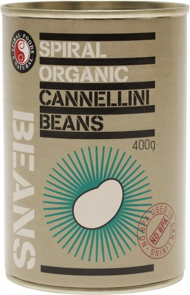 Spiral Organic Cannellini Beans  400g