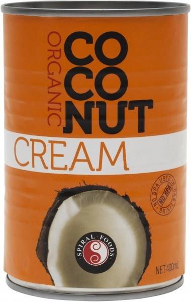 Spiral Organic Coconut Cream  400ml