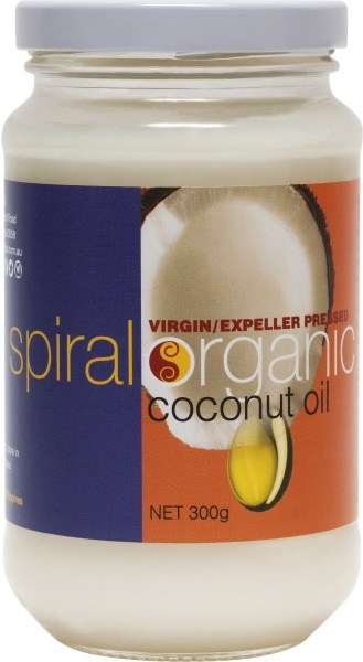 Spiral Organic Coconut Oil  300g