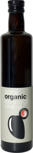 Spiral Organic Extra Virgin Olive Oil (Spain)  500ml
