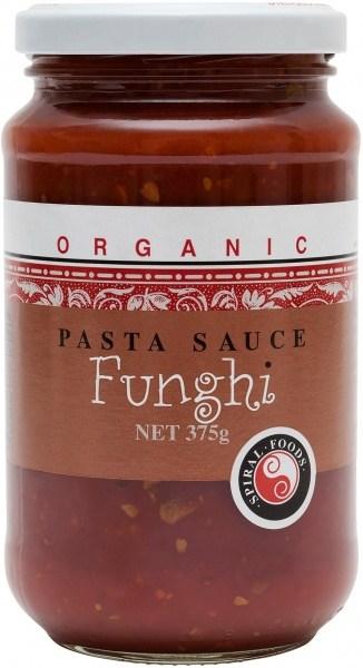 Spiral Organic Fungi Mushroom Sauce  Glass 375g
