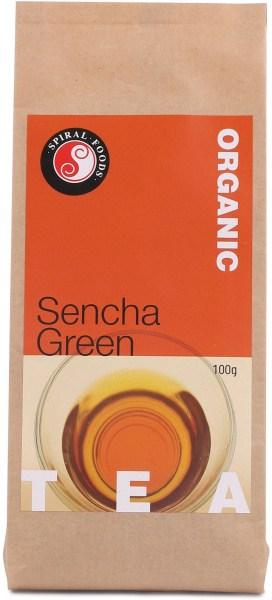 Spiral Organic Green Tea Sencha Loose Leaves  100g