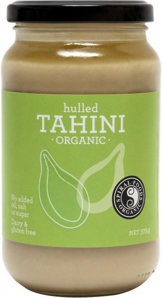 Spiral Organic Hulled Tahini  Glass 375g