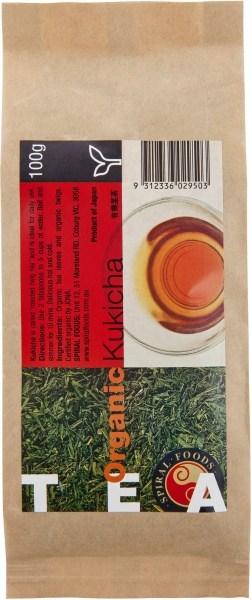 Spiral Organic Kukicha Bancha Tea Loose Leaves  100g