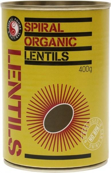 Spiral Organic Lentils  400g