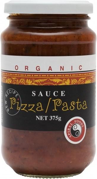 Spiral Organic Pizza/Pasta Sauce  Glass 375g