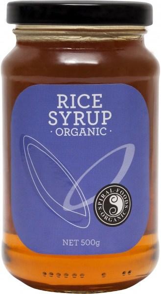 Spiral Organic Rice Syrup  Glass 500g