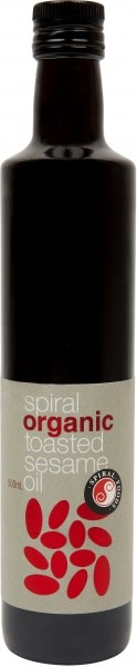 Spiral Organic Toasted Sesame Oil  500ml