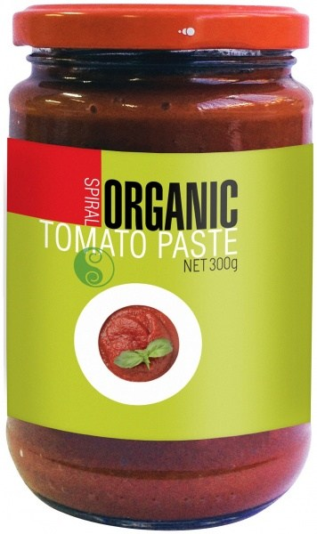 Spiral Organic Tomato Paste  Glass 300g