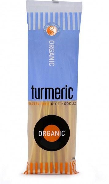 Spiral Organic Turmeric Rice Noodle 250g
