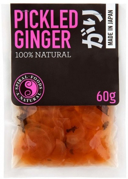 Spiral Pickled Ginger  50g