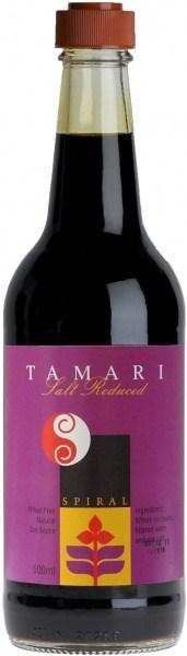 Spiral Salt Reduced Tamari Sauce  500ml