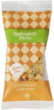 Springhill Farm Sundried Apricot  Wrapped Bites 27x23g