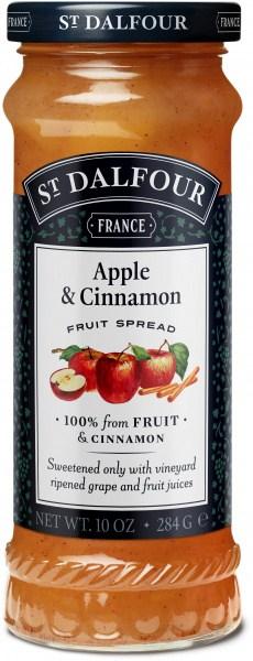 St Dalfour Apple & Cinnamon Fruit Spread 284g