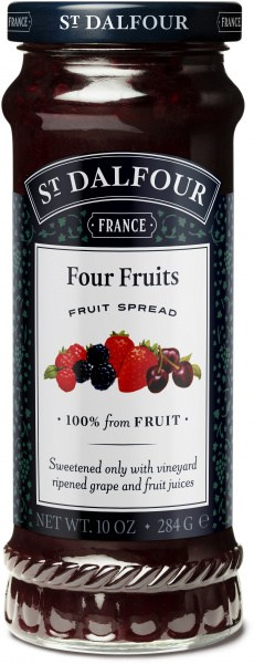 St Dalfour Four Fruits Fruit Spread 284g