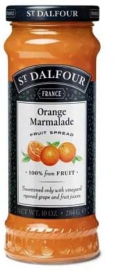 St Dalfour Orange Marmalade Fruit Spread 284g