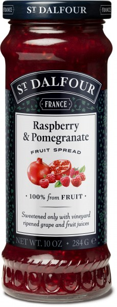 St Dalfour Raspberry/Pomegranat Fruit Spread  284g