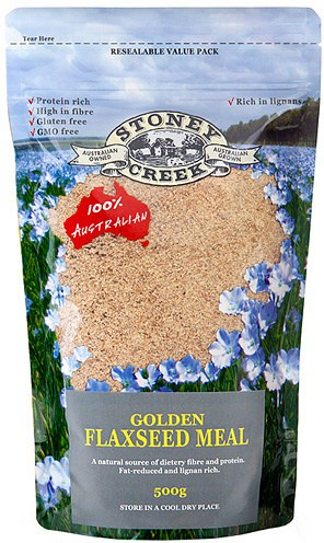 Stoney Creek Golden  Flaxseed Meal 500gm