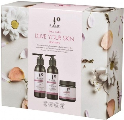 Sukin 3 Step Face Care Love Your Skin Sensitive Pack