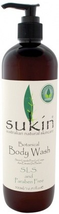 Sukin Botanical Body Wash Cap 500ml